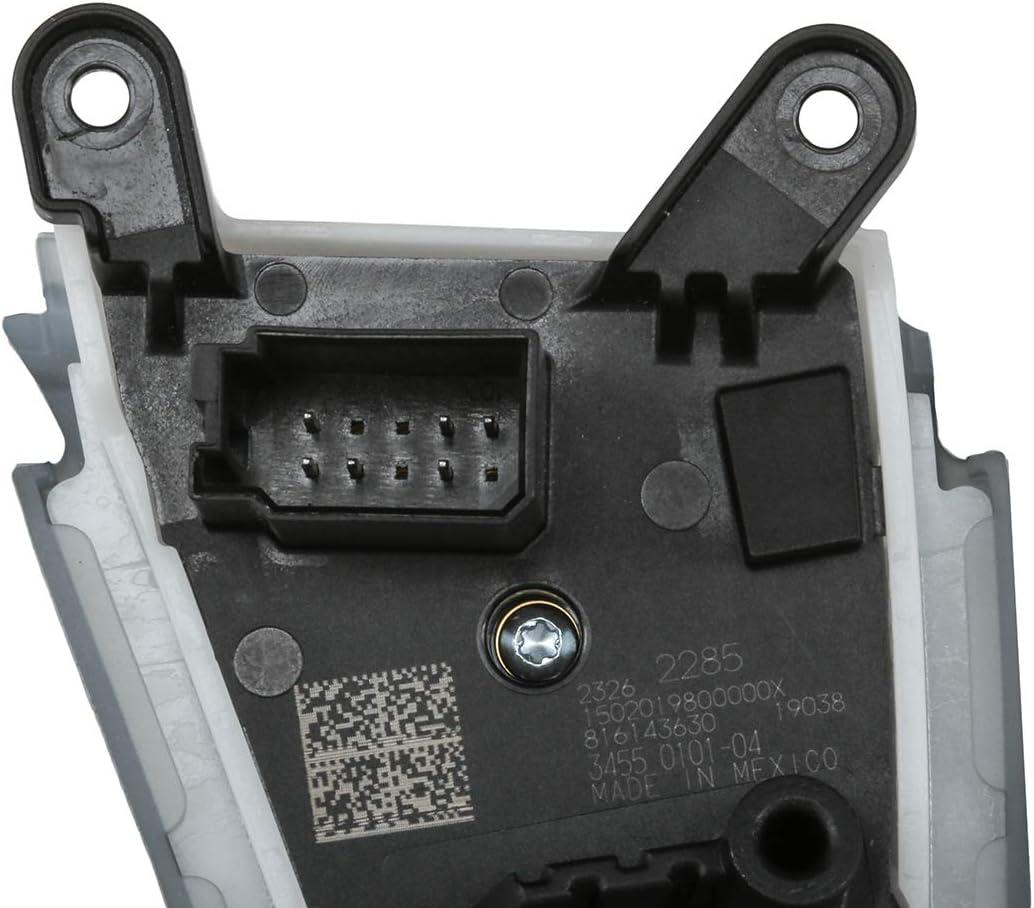 ACDelco 23262285 GM Original Equipment Black Carbon Cruise Control Switch