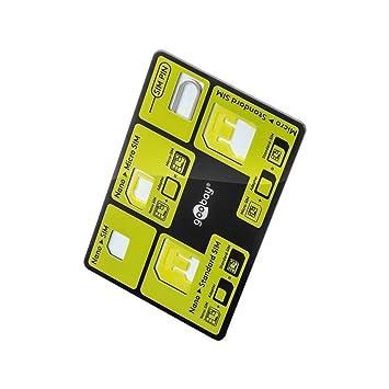Goobay 43929 Adaptador de Tarjetas SIM: Amazon.es: Electrónica