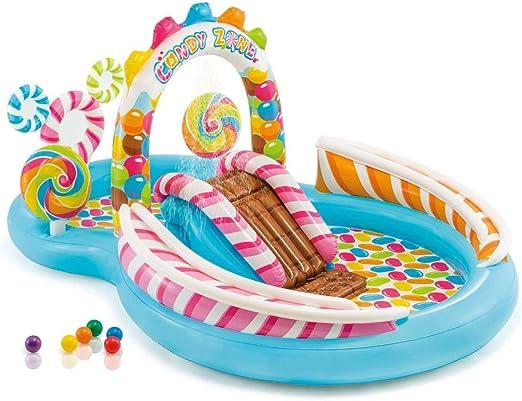 Amazon.com: Piscina hinchable para niños, zona de caramelos ...