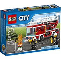 LEGO City Fire Ladder Truck 60107 Cool Toy For Kids