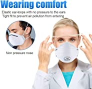 Certified Respiratory Mask N95 Anti-Virus Surgical Masks for Germ Protection FFP2 Antiviral for Medical and Personal Use (10