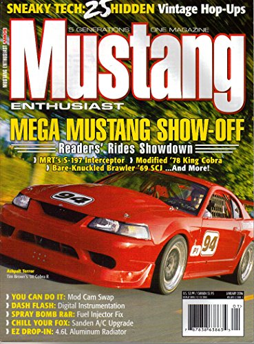 Mustang Enthusiast Magazine, Vol. 6, Issue 1 (January, 2006)