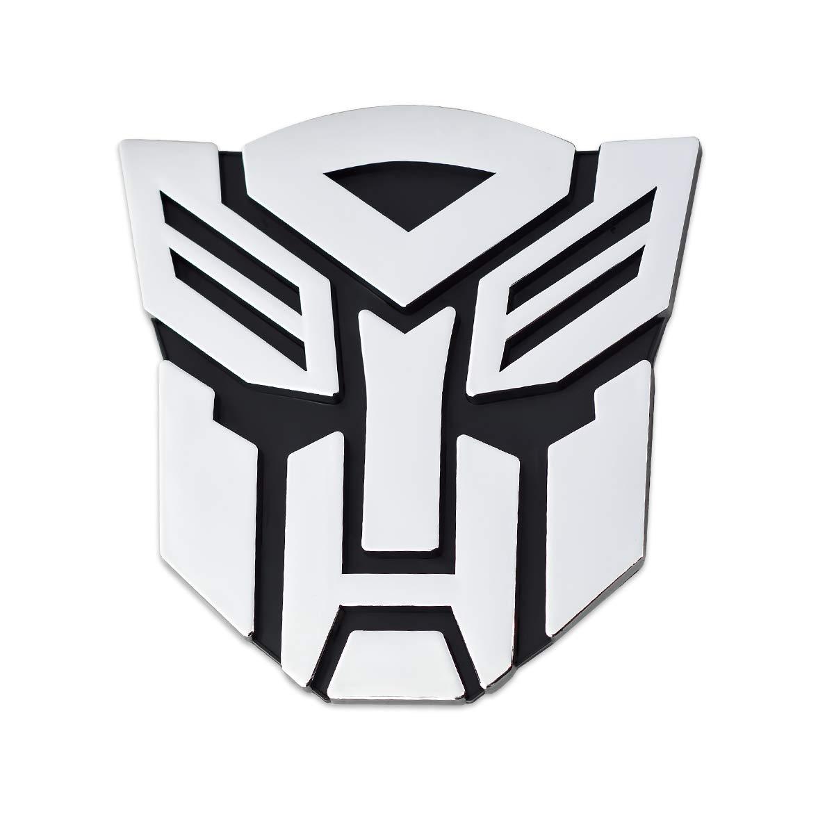 Transformer Autobot Chrome Finish Car Auto Emblem - 3' Tall The Masonic Exchange TME-EMB-00067