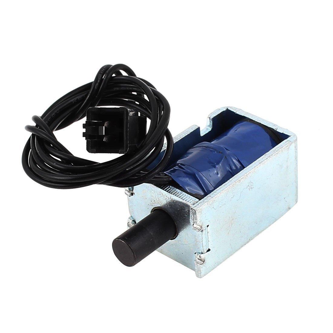 eDealMax a13121700ux0047 Empuje Tipo Fuerza Tubular electroimán del solenoide, DC 12V, 2.4W, 500 g: Amazon.com: Industrial & Scientific