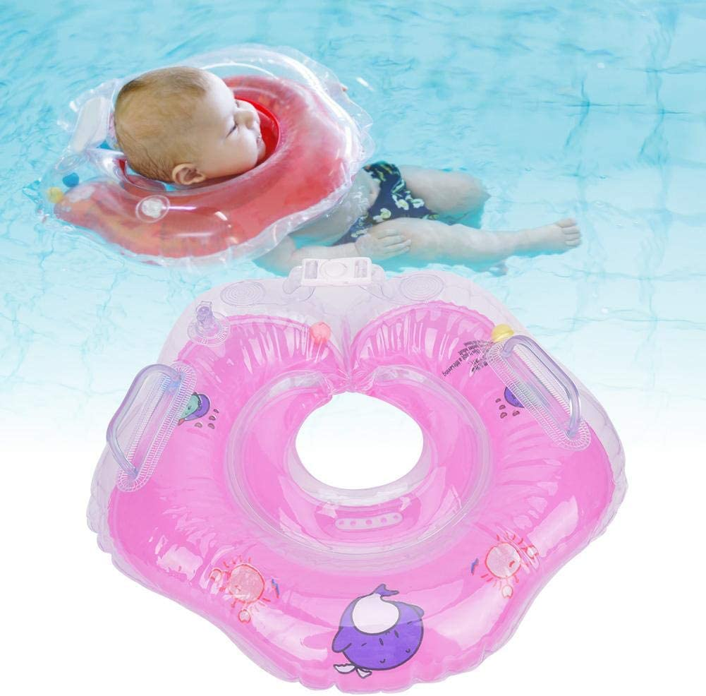 Inflatable Neck Ring Baby Swimming Neck Ring Tube Safety Infant Float Circle for Bathing Inflatable Water