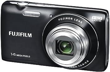 Buy Fujifilm FinePix JZ100 14MP Point and Shoot Camera (Black ...