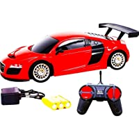 Famous Quality® 4 Function Remote Control Sport Racing car for Kids with Best Birthday Gift for Kids (Color and Design be My Vary)