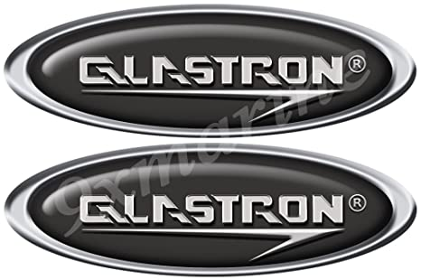 Amazon com: Glastron 2 Oval Boat Decals/Stickers - Classic