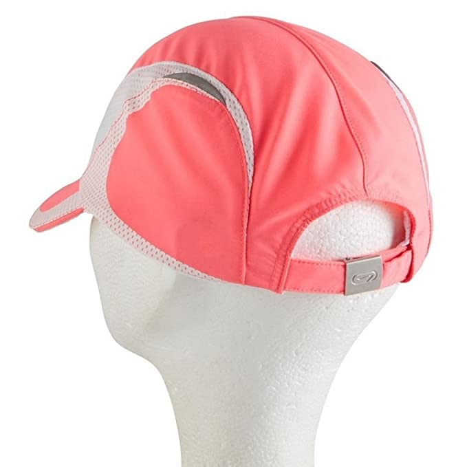 DECATHLON KALENJI luz LED gorra para running, color rosa: Amazon ...