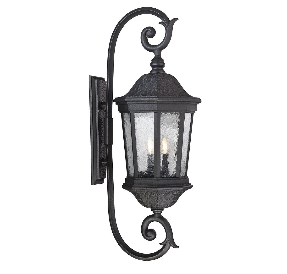 Savoy House 5-5085-BK Hampden 3-Light Outdoor Wall Lantern in Black