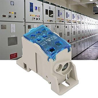 Caja de distribución de bloque de terminales, conector de cable ...