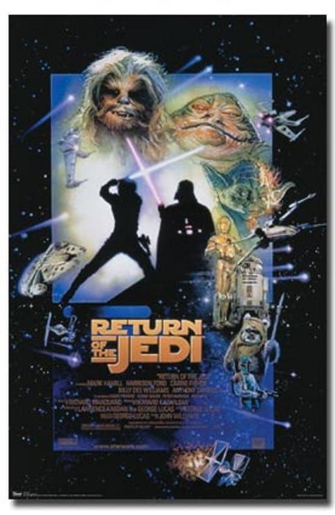 Star Wars Episode VI: Die Rückkehr der Jedi -Film-Plakat 6 ...