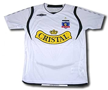 Umbro 2010-11 Colo Colo Home Football Soccer T-Shirt Camiseta