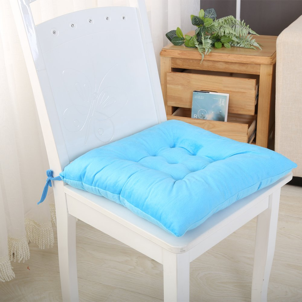 [HISY UPDATE]Chair Pads And Cushions ,Seat Cushions For Kitchen Chairs Pads Pillow Perfect Seat Cushion Yellow ,8 Packs