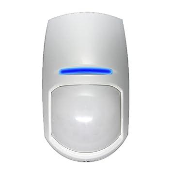 Detector PIR Alta Seguridad Tipo Cortina 18 Metros PYRONIX KX18DC Usos interiores: Amazon.es: Electrónica
