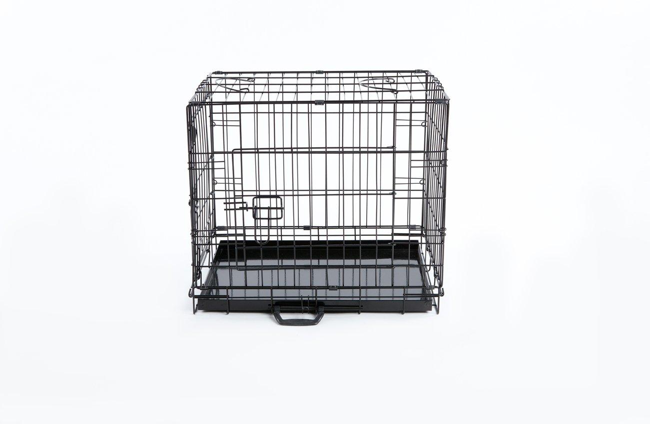 Easipet 24 pulgadas perro Jaula, Negro: Amazon.es: Productos para ...