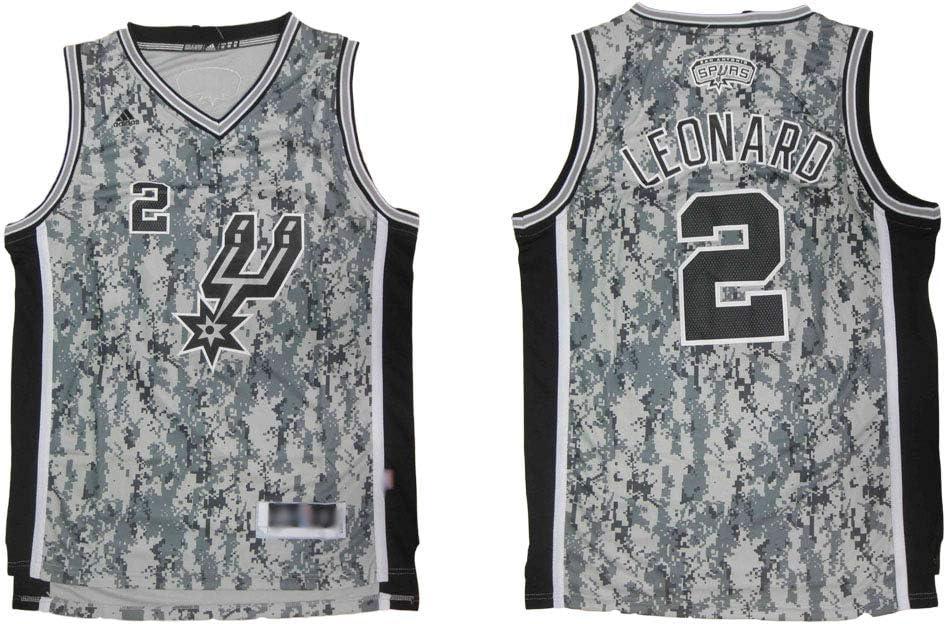 Camiseta De Baloncesto para Hombre San Antonio Spurs # 2 Fans Sin ...
