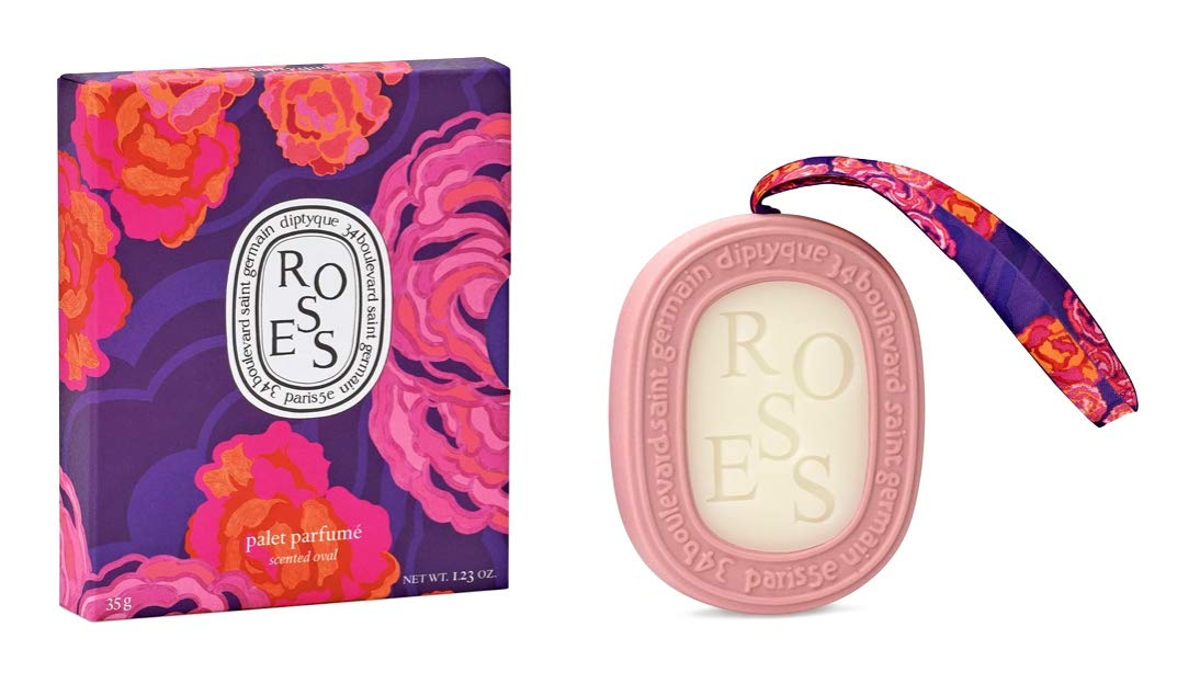 DIPTYQUE Roses Scented Oval 35g/ 1.23oz. Valentines Limited Edition.