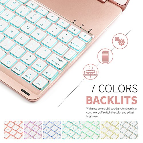 New iPad Pro 10.5 Keyboard Case,Boriyuan Protective Ultra ...