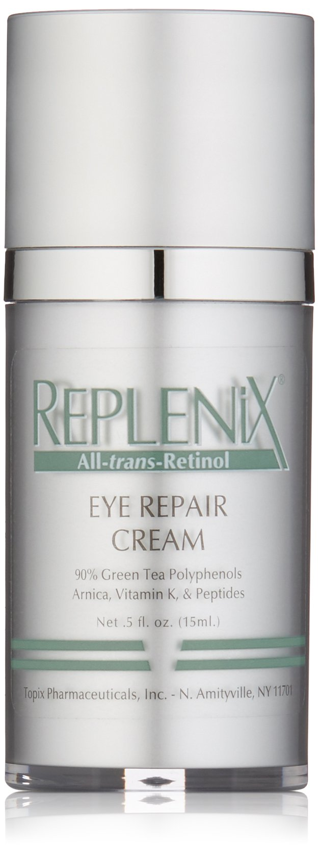 Replenix All-trans-Retinol Eye Repair Cream with Retinol, Vitamin K and Antioxidants, 0.5 Fl oz