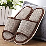 Toimothcn Womens Mens Couples Casual Home Slippers