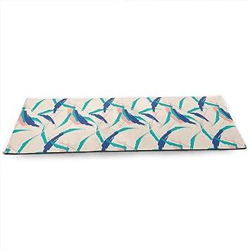 Amazon.com : TAOHJS76 Pro Non Slip Yoga Mat, Brush Strokes ...