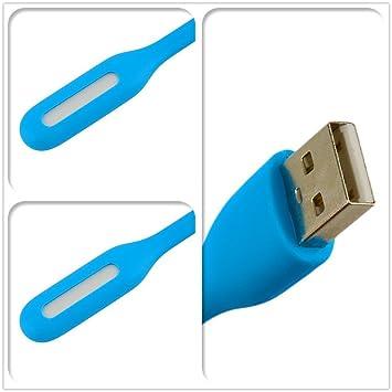 Mini lámpara flexible de la luz del USB LED para el banco de la potencia de la PC del ordenador portátil del ordenador portátil: Amazon.es: Bricolaje y ...