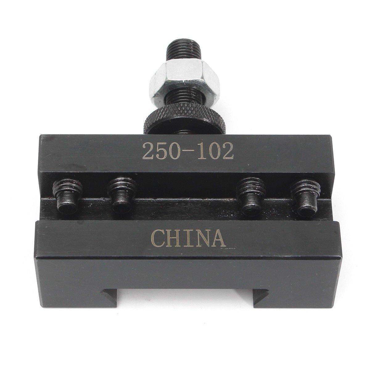 LLDSIMEX 2PC SETS 250-102 6-12'' AXA Quick Change Tool Post Boring Turning Holder #2