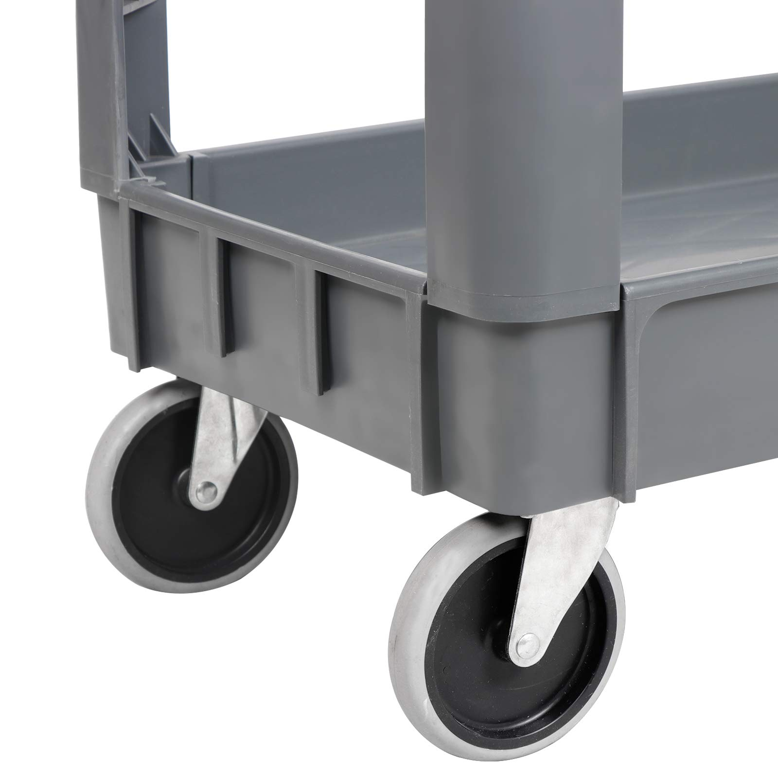 ZENY Rolling Utility Tool Storage Carts Shelves Push Service Cart Tools Organizer with Wheels 550 LBS Capacity by ZENY (Image #6)