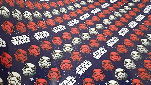 [Christmas Wrapping Star Wars Holiday Paper Gift Greetings 1 Roll Design Festive Wrap Disney Rebels Heads] (Homemade Disney Character Costumes Adults)