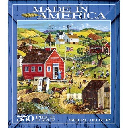 Ceaco Made in America 550 Piece Puzzle  Special Delivery