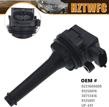 Ignition Coil 30713416 9125601 Fit Volvo C70 S60 S70 S80 V70 XC70 XC90 UF341