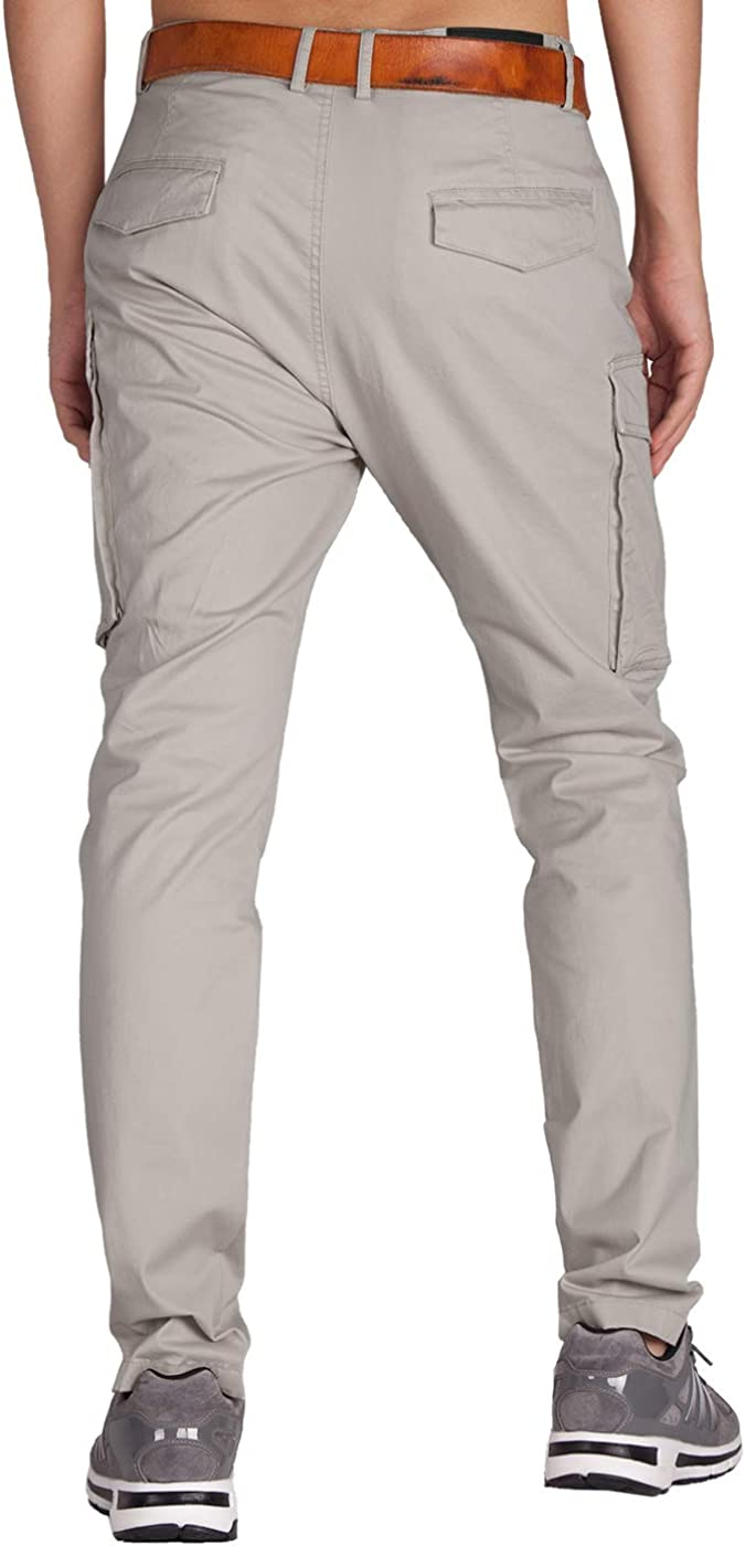 ITALY MORN Mens Technical Cargo Combat Trousers Outdoor Military Work Pants