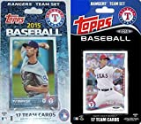 Texas Rangers 2 Team Gift Lot Including 2015 and 2014 Topps Factory Sealed Special Edition 17 Card Team Sets