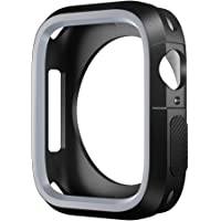 SLEO Watch Case for New Apple Watch Series 4 Case,SLEO Ultra Thin Anti-Scratch Flexible Soft Shock Resistant TPU Screen Protector Cover for New Apple Watch Series 4
