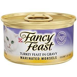Purina Fancy Feast Marinated Turkey Feast Cat Food, 3 oz