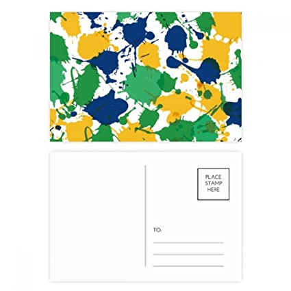 DIYthinker Impresión Gracias Brasil elemento cultural postal ...