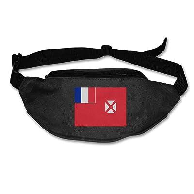 Wallis And Fusuna Flag Unisex Waist Packs Adjustable Outdoor Running Sport Hiking Fanny Packs Wallet