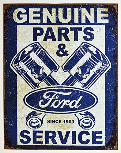 ns Tin Sign 13 x 16in (Ford Tin)