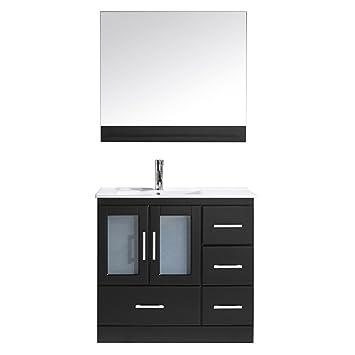 Virtu Usa Ms C Es Modern Inch Single Sink Bathroom Vanity
