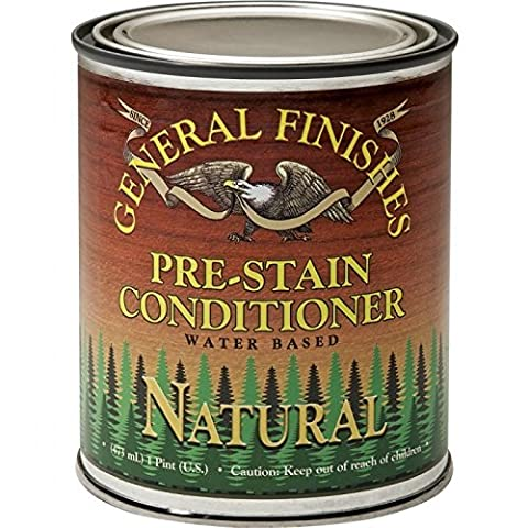 Natural EF Stain, Pint by GENERAL FINISHES (Pre Stain Conditioner)