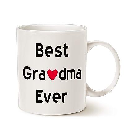 MAUAG Christmas Gifts Best Grandma Coffee Mug