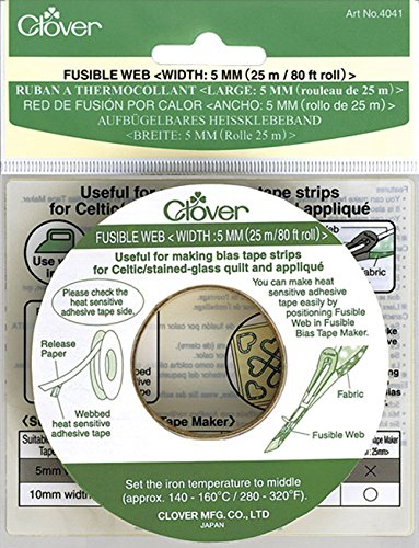 - Clover Fusible Web Tape 5mm