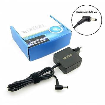 MTXtec - Fuente de alimentación para Asus, Toshiba ADP-45BW B con conector de