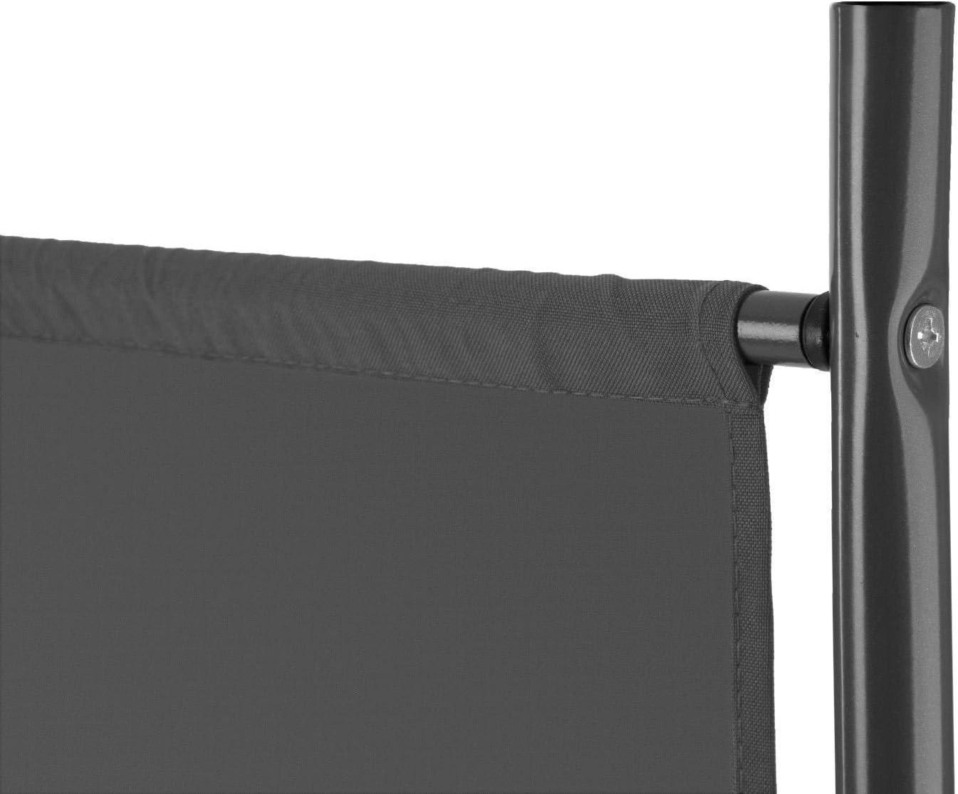 SAILUN 260x180cm S/éparateur Ext/érieure Diviseur despace Paravent Cloison de Protection Anthracite