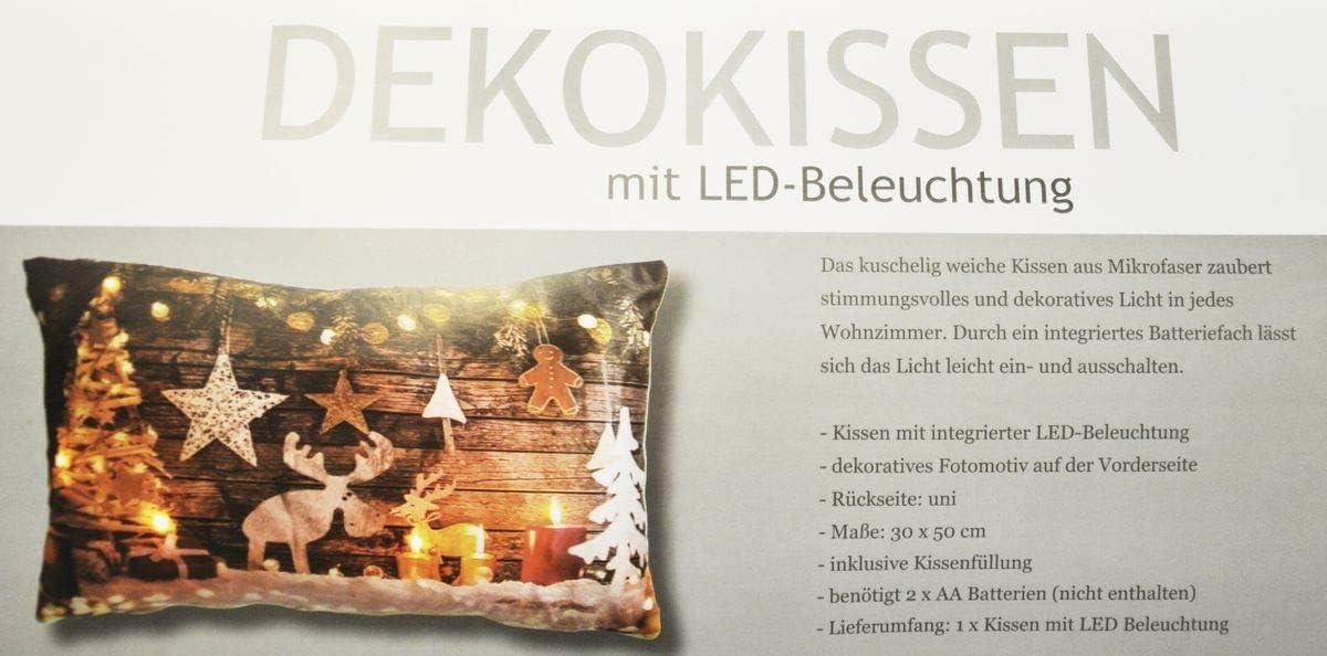 Kuscheliges Deko Sofa Fotomotiv Kissen 45x45 cm Wintermotive Geschenkidee