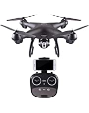 OVERMAL Drone S70W 2.4GHz GPS FPV Drone Quadcopter with 1080P HD Camera Wifi Headless Mode