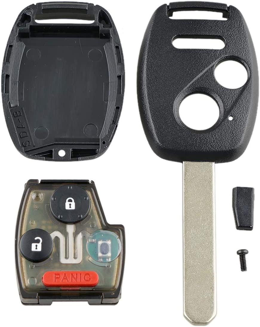 2+1 Buttons 313.8Mhz OUCG8D-380H-A ID46//7936 Chip Fob Car Remote Key For Honda Ridgeline Odyssey Auto Parts