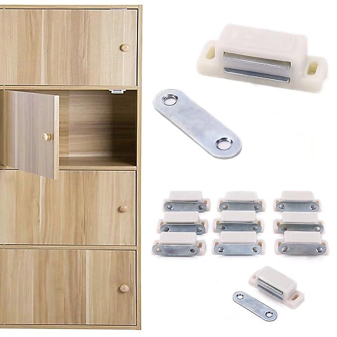 ricisung 10/x peque/ño mediano resistente armario Gabinete Puerta Cierre magn/ético Latch Home muebles cocina armario 3/ /6/kg de fuerza fuerte