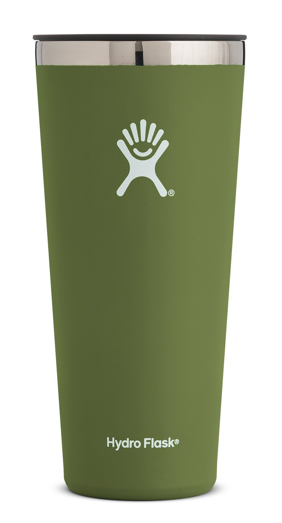 Hydro Flask 32 oz Tumbler Cup - Stainless Steel & Vacuum Insulated - Press-In Lid - Olive